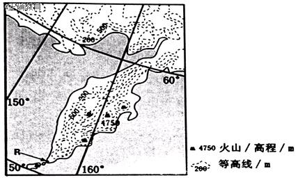 图为某半岛地形图.据此完成下列小题