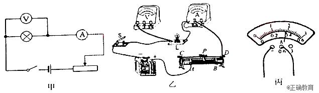 端(填A或B); 4.闭合开关后,小明发现小灯泡不亮,但电流表和电压表均有示数,接下来他首先应该操作的是______(填序号) A.检查电路是否开路 B.检查电路是否短路 C.移动滑动变阻器的滑片,观察小灯泡是否发光 5.实验过程中,移动滑动变阻器的滑片的同时,眼睛应注视_______(填序号) A.