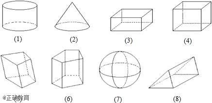 有些几何图形(如长方体,正方体,圆柱,圆锥,球等)的各个部分不都在同一