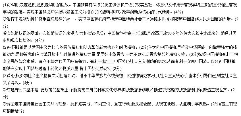 实现中国梦必须弘 杨中国精神.