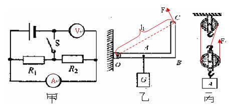 """""""电压表""""和""""电流表""""的符号"""